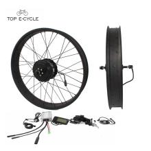 Kit de conversión de bicicleta eléctrica barata & buena calidad 48V 500W para ebike neumático gordo