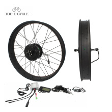 Barato e de boa qualidade bicicleta elétrica 48 V 500 W kit de conversão para ebike gordura do pneu