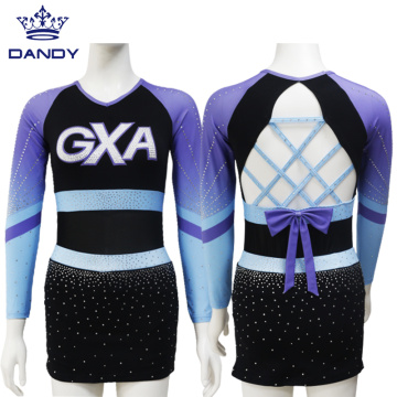 Freies Design Sexy Sublimation Cheerleading Uniform