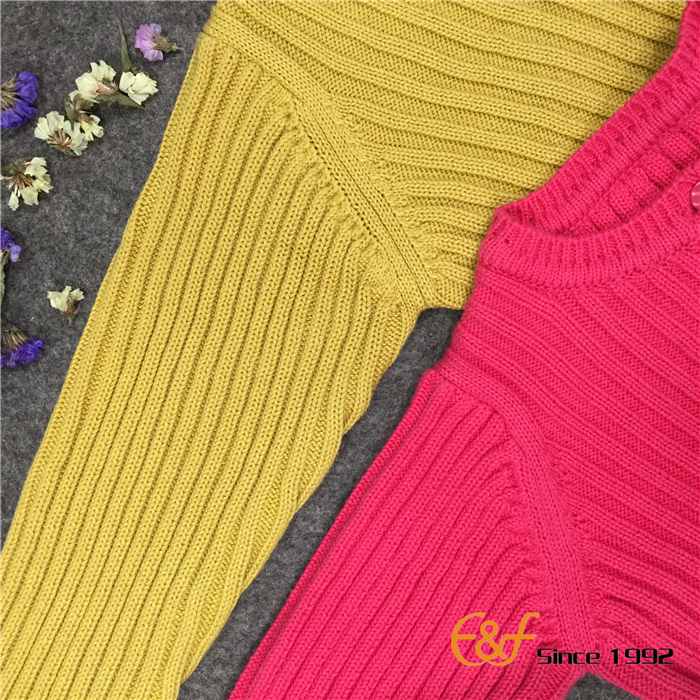 Convex ribs Knitted Sleeves