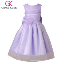 Grace Karin Light Lavender The Most Beautiful Flower Girls Dresses CL4832
