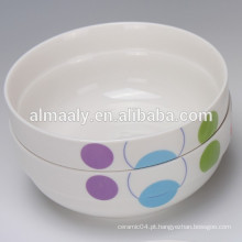 venda por atacado tigela de porcelana com novo design