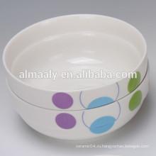 оптовой фарфоровой чаши с новым дизайном