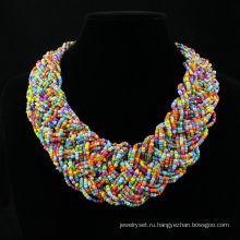 Быстрая доставка 2013 бисером ожерелье