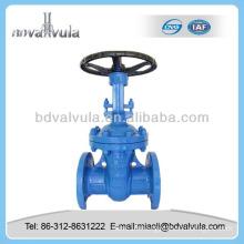 Din cast iron simple disc manual gate valve