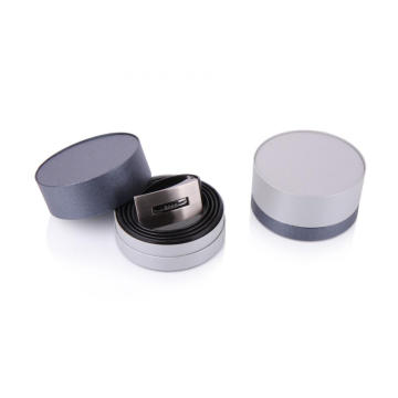 Custom Male Belt Round Packaging Box