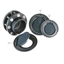 DIN 3352 Standard-PVC-Klappenrückschlagventil
