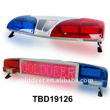 Coche de policía de la barra de pantalla Led Light Bar