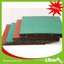 2014 Liben rubber floor mat for playground