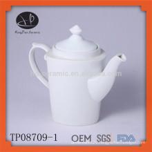 Hot selling white ceramic tea pot set tea infuser