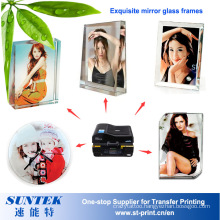 Sublimation Heat Press Transfer Printing 3D Crystal for Friend