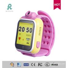 GPS Watch para crianças com rastreamento 3G
