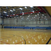 Indoor PVC Sports Floor / Basketball Floor / Mat Fiba Certificate Superfície de madeira