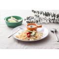 100% Melamine Sauce Dish with Handle/Buffet Sauce Dish (QQ1620-03)