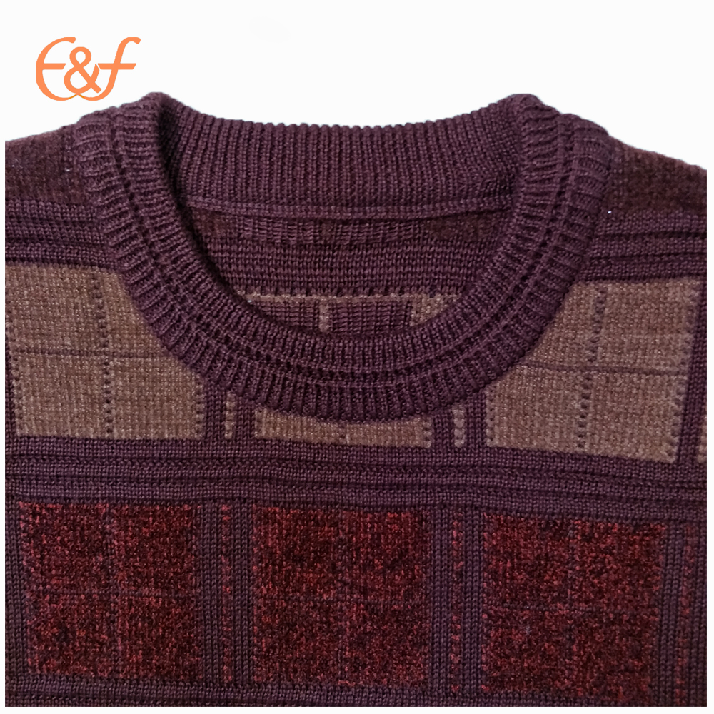 Pullover maroon sweater