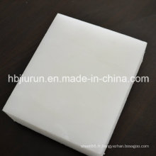 Feuille de polypropylène de 2mm avec la couleur blanche