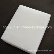 Folha de polipropileno de 2mm com cor branca