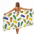 OEM Factory Quick Dry Custom Printed Microfiber Sublimation Towels Beach Towel