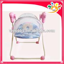 Elektrischer Baby-Schaukelstuhl zum Verkauf mit Musik und Moskitonetz