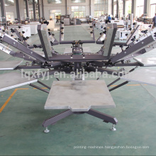 manual t-shirt screen printing machine price with micro registration