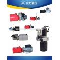 Sistema de unidade de pacote de energia hidráulica para porta-paletes