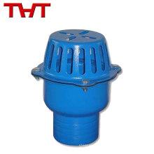 Todos los tamaños disponibles DN40-DN350 cuesta la válvula de pie de la bomba de agua de hierro