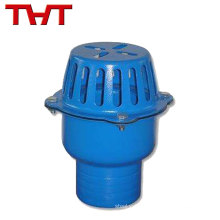 All sizes availale DN40-DN350 cost iron water pump foot valve