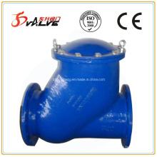 Фланцевый обратный шаровой обратный клапан из чугуна с шаровидным графитом