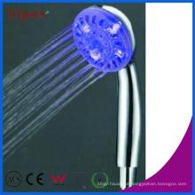 Cabeça de chuveiro da mão do diodo emissor de luz do poder da cor de Fyeer 3 Cor