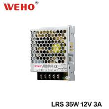 Fuente de alimentación de conmutación Ultra Thin 35W 12V AC / DC