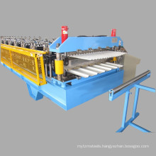 Roof Use Corrugated Profile Steel Roofing Sheet Roll Forming Machine Roof Tile Making Machine