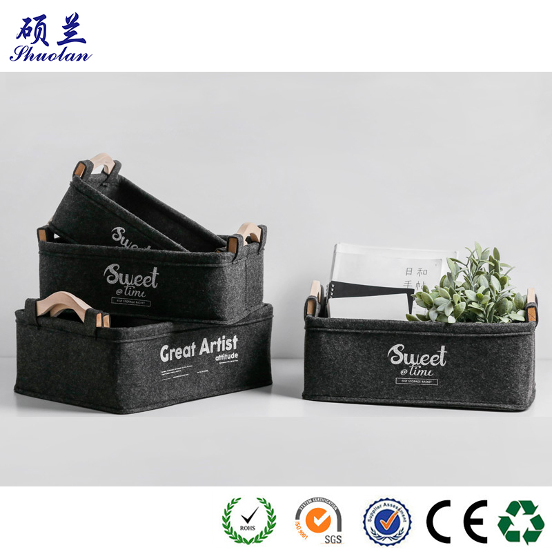 Good Quality Felt Basket
