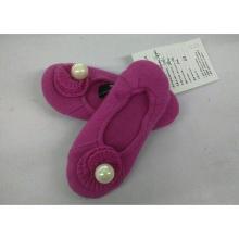 zapatos de ballet de cachemira de la venta caliente, deslizador de la cachemira