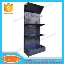 floor standing metal exhibitor floor standing light bulb display stand rack