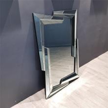 Подвесное зеркало из МДФ с прямоугольной рамкой 3D