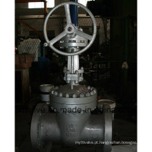 API600 Válvula de Engrenagem de Parafuso Sem-fim de Aço Carbono