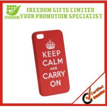 Caso de telefone móvel de logotipo personalizado de plástico promocional