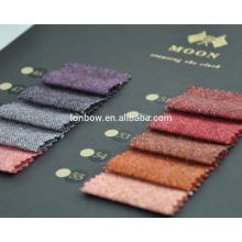 Abraham moon tweed fabric, fashion colors, coat fabrics