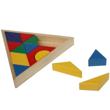 Wooden Triangle Blocks Board Spielzeug