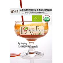 Suco de Goji orgânico - certificado orgânico-2016