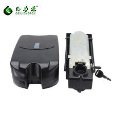 Custom frog style lithium ion electric bike battery pack 36v 8ah electric bike battery price