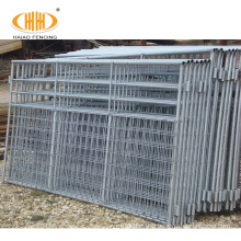 temporary steel structure corral panel horse fence