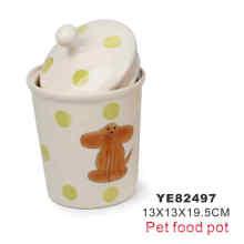 Olla de alimentos, productos para mascotas (YE82497)