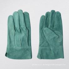 Meduim Gewicht Vollleder TIG Schweißarbeiten Handschuh-9969. Gn