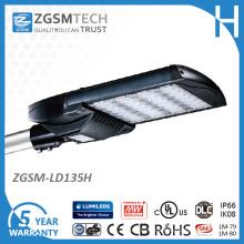 IP66 135W LED Parkplatz-Licht mit Ce UL genehmigt