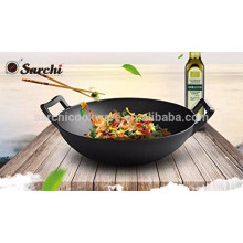 Cast Iron Wok,Chinese, Vegetable Oil