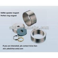 Big ring neodymium coated speaker magnet