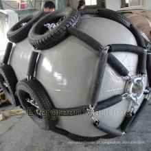 Os pára-choques marinhos da marinha cinzenta de borracha aprovados ISO17357 manufaturaram em China