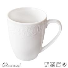 Taza de porcelana en relieve de cerámica de la promoción