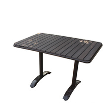 H-China Outdoor Rattan Garden Table for 2015 Hot Sell Furniture